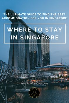 Where to stay in Singapore - The ultimate guide to find the best accommodation in Singapore Wanderlust Travel, Asia Travel, Singapore Where To Stay, Sleep Drink, Hotel Specials, Island Life, Southeast Asia, Where To Go, The Good Place