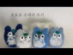 Crochet Totoro, Crochet Hats, Diy Projects, Diy Crafts, Knitting, Crocheting, Knitted Flowers, Breien, Knitting Hats