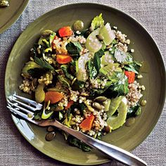 Quinoa and Parsley Salad Recipe