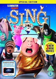 From 8.50:Sing [DVD] [2017]