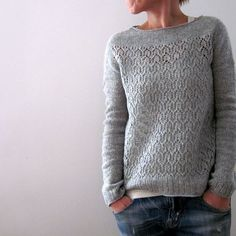 ...and here is my own April :) #isabellkraemer #lilalu #newdesign #knittersofinstagram #newpullover #knittingdesign #quinceandco #aprilpullover by lilalu72