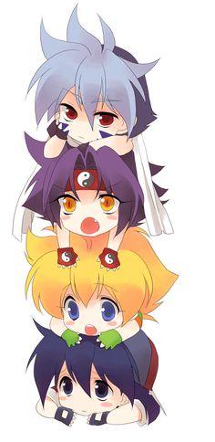 Tags: Anime, BEYBLADE, Kon Rei, Mizuhara Max, Hiwatari Kai