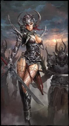 Fantasy artwork by Shanghai based artist molybdenumgp03.  Super cool and sexy. I like it.