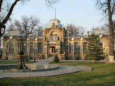 "The Romanov Palace in Tashkent. ""AL"""