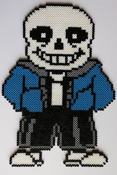 Sans Perler Beads by kamikazekeeg on DeviantArt