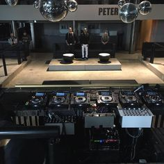 Soundcheck complete in Riccione, Italy at Peter Pan. David Morales & Louie Vega Live 6 hour set