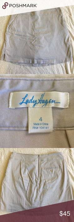 Lady Hagen Golf Skort EUC adorable Lady Hagen golf skort! In perfect condition, just a little wrinkled. Smoke free, dog friendly home! I am only interested in selling. Lady Hagen Skirts
