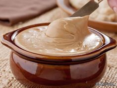 AMISH CHURCH SPREAD (2c)...Creamy, sweet peanut butter spread is often served at Amish gatherings - on everything from bread to cakes...1/2c brown sugar, 1/4c water, 1Tbsp butter, 2Tbsp corn syrup,  3/4c peanut butter, 1/2c marshmallow creme, 1/2tsp vanilla extract... Saucepan, high heat, combine sugar+water+butter;bring to a boil. Stir in corn syrup, reduce heat to low; simmer 1-2min; remove from heat. Stir in peanut butter+marshmallow crème+vanilla till blended. Store in a container in…