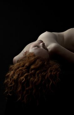 by Eric Kellerman Ivory Flame Red Hair Portrait
