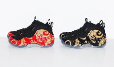Supreme x Nike Air Foamposite One Collection