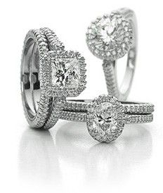 Engagement rings. carats-and-carats-of-sparkly-stones
