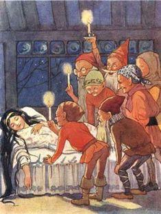 """""""Schneewittchen und die sieben Zwerge"""" - von Grimm"""