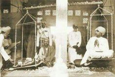 WEIRD WAYS OF INDIAN ROYALS...  HH Maharaja of Bikaner Ganga Singh On the occasion of his golden jubilee, the generous king participated in the ancient Hindu Tula Daan ceremony whereby he sat on a large set of scales and was weighed against gold bars. The cash equivalent was then donated to the charitable Golden Jubilee Fund.