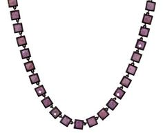 Nak Armstrong | Orchid Sapphire Mosaic Necklace in Necklaces Beads at TWISTonline