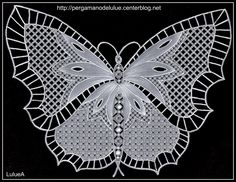 Image detail for -... Tags : papillon photos dentelle dentelle de papier pergamano