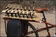 beer bicycle