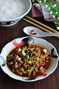 Fermented Black Beans With Minced Meat 黑豆豉炒肉碎