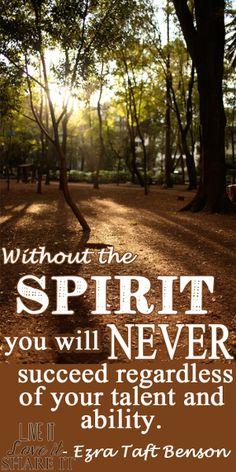 Without the Spirit... #LiveitLoveitShareit