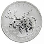 Canada 1oz Silver moose, in a few weeks even as a 1kilo coin. Great!