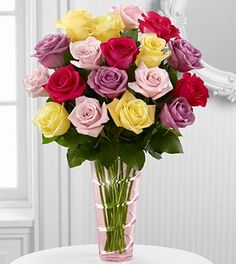 The Mixed Rose Bouquet by FTD®