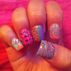 Cute nails done by Mailee at iCandy