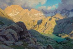 wind river mountains lakes photos - Google Search