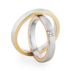 Christian Bauer matching wedding bands #gold #silver