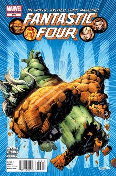 Fantastic Four #609 - The God Ship