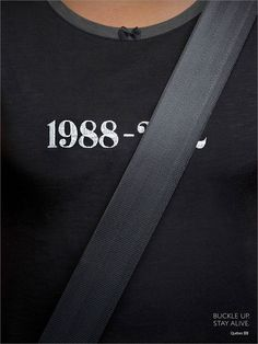 """""""Buckle Up, Stay Alive"""" A Quebec car insurance ad."""