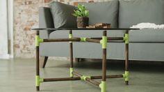 DIY Pipe Coffee Table