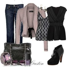 purple ring, created by stacy-gustin.polyvore.com
