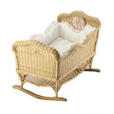 wicker bassinets | Mason Wicker I2940 Cradle - Product Reviews and Prices - Shopping ...