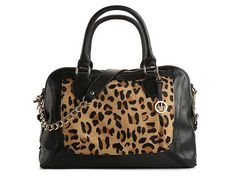 f1eacbb82a Audrey Brooke Paramount Leopard Satchel