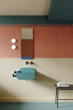 Marcante Testa's Beautiful Bathroom Collection for Ex.t - Azure Magazine | Azure Magazine Spanish Bathroom, Tuscan Bathroom, Classic Bathroom, Bathroom Collections, Towel Hooks, Create Space, Beautiful Bathrooms, Old And New, Shelves
