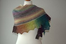 Ravelry: Time for Coffee Shawl pattern by Zsuzsa Kiss Shawl Patterns, Knitting Patterns Free, Free Knitting, Free Pattern, Crochet Patterns, Knitted Shawls, Knitting Projects, Knitting Supplies, Loom Knitting