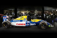 —————- Williams FW14B 10 ——————-  The Williams FW14B being exhibited. Category Formula One Constructor Williams Designer(s) Patrick Head (Technical Director) Adrian Newey (Chief Designer) Predecessor FW13B Successor FW15C Technical specifications[1][2] Chassis Carbon fibre and honeycomb composite structure Suspension (front) 1991: Pushrod, inboard spring / dampers 1992: Active suspension Suspension (rear) 1991: Pushrod, inboard spring / dampers 1992: Active suspension Engine 1991-1992…