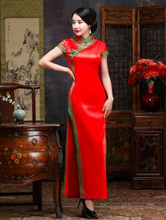 c06c81b0a 1602 Best Cheongsam/Qipao images in 2019   Chinese clothing, Chinese ...