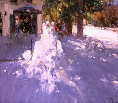 Love the sense of light! Bato Dugarzhapov - information about the artist & paintings on russianfineart.com & artrussia.ru