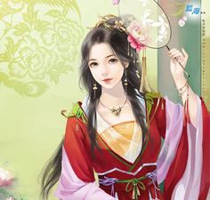 Vintage Chinese lady.