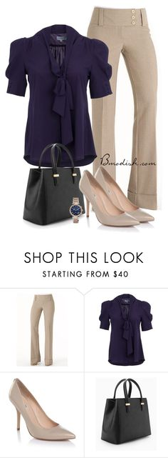 """""""Chic in office"""" by wulanizer ❤ liked on Polyvore featuring Whistle & Wolf, MANGO and Michael Kors"""