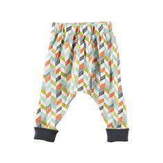 Rockin Baby Baby Boy Grey Print Legging