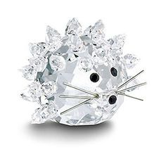img-thing (300×300) Swarovski Ornaments, Swarovski Crystal Figurines, Swarovski Crystals, Hedgehog Animal, Glass Figurines, Glass Animals, Crystal Collection, Crystal Jewelry, Glass Art