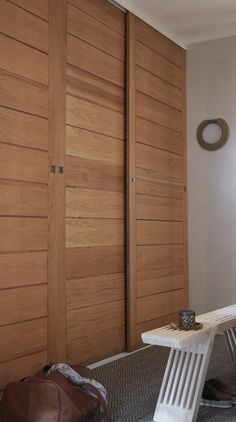 Bedroom closet doors diy wardrobes 59 New Ideas Wardrobe Door Designs, Wardrobe Design Bedroom, Diy Wardrobe, Wardrobe Doors, Diy Bedroom, Small Apartment Bedrooms, Small Apartments, Small Spaces, Bedroom Cupboard Designs