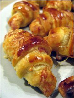Petits Croissants salés pour l'apéritif