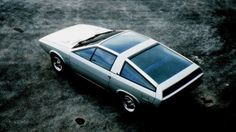 1974 Hyundai Pony Coupe Concept by ItalDesign