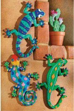 3 GECKO lizard DECORATIVE WALL HANGING home decor by OTC, http://www.amazon.com/dp/B000SQMC8E/ref=cm_sw_r_pi_dp_lQ1arb10AFMCA