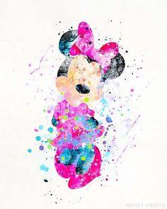 Disney Kunst, Arte Disney, Disney Art, Harry Potter Disney, Watercolor Disney, Watercolor Map, Watercolor Lettering, Disney Wallpaper, Iphone Wallpaper