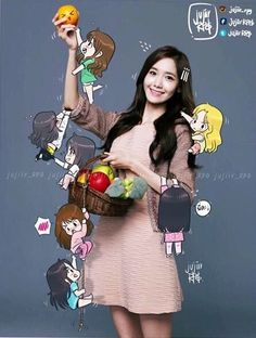 Yoona fanart ❤