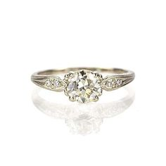 Leigh Jay Nacht Inc. - Replica Art Deco Engagement Ring - 1907D-08