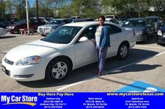 Congratulations Felicia on your #Chevrolet #Impala from Lee Martinez at My Car Store Buy Here Pay Here!  https://deliverymaxx.com/DealerReviews.aspx?DealerCode=YOGM  #MyCarStoreBuyHerePayHere
